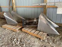 *set of 4 Tridekon s/s crop dividers w/air lift