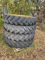 *380/90R46 tires on JD rims