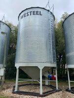 *Bin7: Westeel Bins 3200 bushel on Peloquin hopper cones (Bins must be removed from sale site July 31st, 2021)