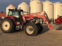 *2007 Buhler Versatile 2145 Genesis II MFWD Tractor w/Buhler Versatile 3895 SLR Quick Attach loader