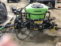 """*3"""" Chembine 60-gal chemical mix system"""