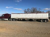 *1991 Corn Husker 53' tandem axle Aluminum Convertible trailer, VIN# 1T92C4623M0007461 Owner: Randy J Pawich Seller: Fraser Auction__________ ***TOD, SAFETIED***