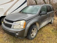 *2005 Chev Equinox SUV w/auto trans, 4 door Hatchback, RUNNING PARTS VEHICLE ONLY NO TOD