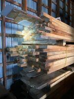 Rough cut lumber lot