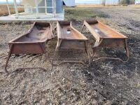 * (1) 10' metal feed trough