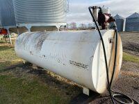 *1000-gal fuel tank w/115- volt, Fill-Rite 20GPM pump