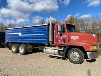 *1999 Mack CH600 Maxi Cruise T/A Grain Truck, VIN# 1M1AA13Y6XW113614, Owner: David Nettle Seller: Fraser Auction_________ ***TOD, SAFETIED, KEYS***