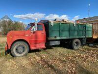 *1971 GMC s/a grain truck, VIN#CE503Y71855, Owner: David Nettle Seller: Fraser Auction_____________ ***TOD, KEYS***