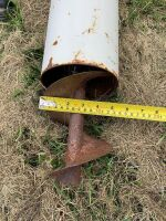 """*Approx 5""""X10' pencil auger"""