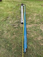 """*Approx 3.5""""X11' blue pencil auger w/electric generator"""