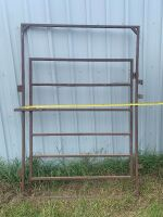 """*52"""" gate made with 1"""" tubing"""