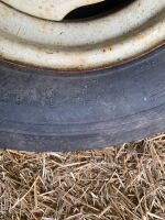 *7.60-15 tire with 4-bolt rim