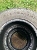 *Used LT265/75R16 All Terrain Nitro Terra Grappler tires