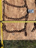 """*1'x5'6"""" approx. set of 2 tire chains (A)"""