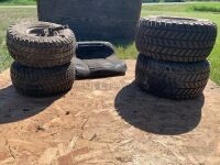 *lawnmower seats and tires (LOT 1)