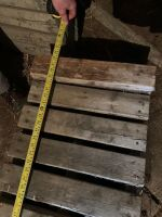 """*homebuilt wooden ramps with metal extension (10"""" high, 68"""" long)"""