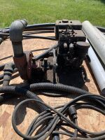 *Various pipe with Briggs & Stratton pump (unsure if working)