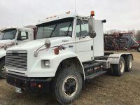 *K33 – 1994 Freightliner FL106 w/ day cab, 006926 kms showing, VIN#BUY8HCB8RL57043W Owner: Oliver Phillipot Seller: Fraser Auction__________ ***TOD, KEYS***
